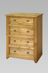 Amalfi 4 Drawer Chest
