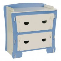 Kinder Childrens Chest Of Drawers - Blue