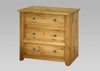 Amalfi 3 Drawer Chest
