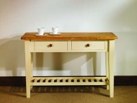 Mottisfont Painted Pine Hall Table 4ft