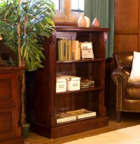 Rochester Mahogany Low Open Bookcase