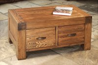 Santana Reclaimed Oak Coffee Table