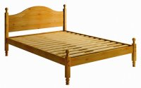 Balmoral Pine 4ft 6in Low Footend Bedstead