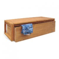 Reclaimed Teak - Cloth Board With Rolling Drawer