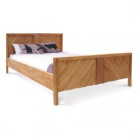 Reclaimed Teak - Bed Diagonal Panel