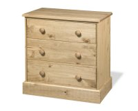 Cotswold 3 Drawer Chest