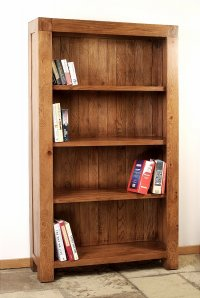 Santana Reclaimed Oak Tall Bookcase