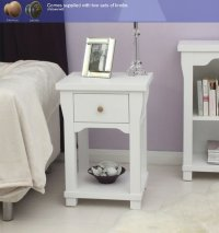 Hampton Painted One Drawer Lamp Table
