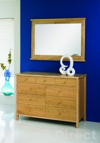 Atlantis Natural Oak 6+3 Drawer Chest
