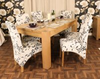 Ashton Oak Dining Table (4-6 Seater) Table Only