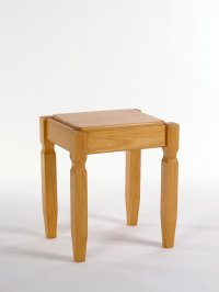 Balmoral Pine Bedroom Stool