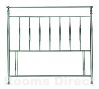 Arden 135cm (Double) Antique Nickel Headboard