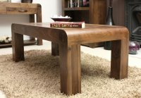 Shiro Walnut Coffee Table Medium Open