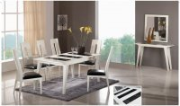 Valencia Glass Dining Table (Table Only)