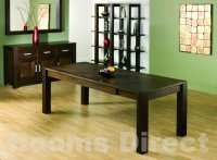 Lyon Walnut 150cm End Extending Dining Table (Table Only)