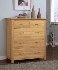 Greenwich Ashwood 2/3 Chest Of Drawers