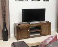Shiro Walnut Television Cabinet Widescreen