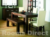 Dark Wood Dining Tables & Chairs