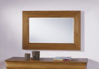 Chateau Oak Rectangular Mirror