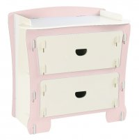 Kinder Childrens Chest Of Drawers - Pink