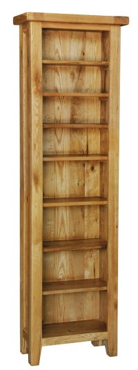 Provence Oak CD DVD Bookcase