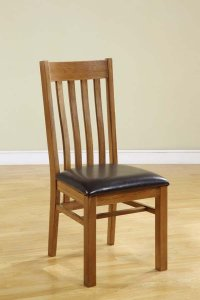 Chateau Oak Vermont Dining Chair (Pair)