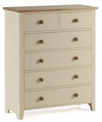 Camden Painted Pine 2 Over 4 Deep Chest