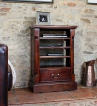Rochester Mahogany Entertainment Cabinet