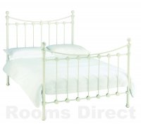 Alice 135cm (Double) White Bedstead