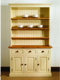 Mottisfont Pine Dresser - Farmhouse 4ft - Painted