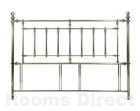 Imperial 180cm (Super King) Antique Brass Headboard