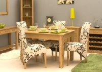 Mobel Oak Dining Table 120cm (4 Seater)