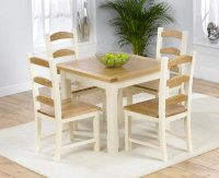 Windle Ash Dining Table 90cm plus 4 Chairs