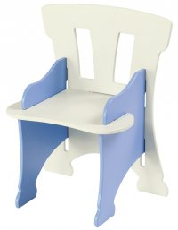 Kinder Childrens Chair Blue - Boys