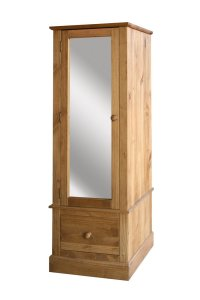 Cotswold Armoire With Mirrored Door