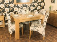 Ashton Oak Dining Table (4 Seater) Table Only