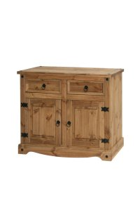 Corona Mexican Pine 2 Door 2 Drawer Sideboard