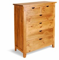 Aston Pine 6 Drawer Chest