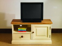 Mottisfont Painted Pine TV Unit