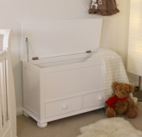 Nutkin Blanket Box Toy Box with Drawers