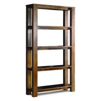 Cuba Acacia Open Shelf Unit