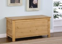 Greenwich Ashwood Blanket Box