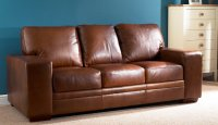 Chelsea Leather Sofa - 3 Seater