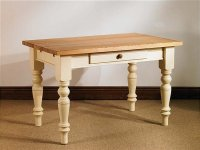 Mottisfont Painted Pine Dining Table Farmhouse 4ft x 2.5ft