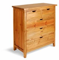 Aston Pine 5 Drawer Chest