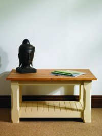 Mottisfont Painted Pine Potboard Coffee Table