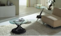 Tokyo Glass Coffee Table Black