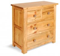 Broxton Pine 4 Drawer Chest