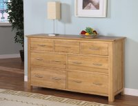 Greenwich Ashwood 3/4 Wide Chest of Drawers