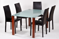 Union Glass Dining Table - Various Legs
